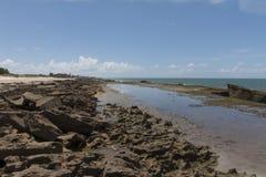 Южная береговая линия - натальная, RN, Бразилия Стоковые Фотографии RF