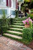 южная входа грандиозная историческая домашняя к Стоковое Фото