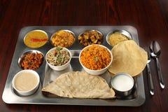 Южная индийская органическая традиционная еда стоковая фотография