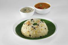 Южная индийская еда Стоковое Изображение RF