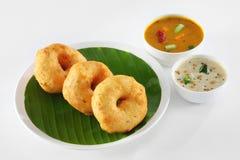 Южная индийская еда Стоковое фото RF