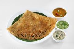 Южная индийская еда Стоковые Изображения