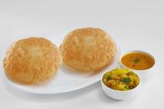 Южная индийская еда Стоковое Фото
