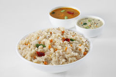 Южная индийская еда Стоковые Фото