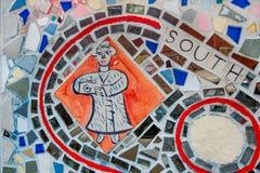 Южная мозаика улицы Стоковая Фотография RF