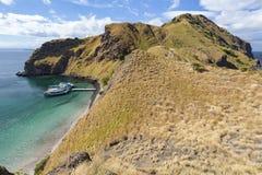 Южная оконечность Pulau Padar стоковое изображение