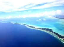 Южная Тарава, Кирибати стоковое изображение