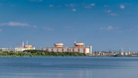 Южная украинская атомная электростанция Стоковые Изображения