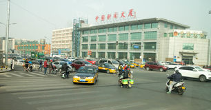 Южное движение Пекина стоковая фотография rf