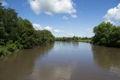 Южное река скунса от моста Меца Стоковое фото RF