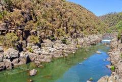 Южное река Esk - Launceston Стоковое Изображение RF