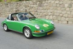 Южное cars_PORSCHE 911 Тироля классическое Стоковое Изображение