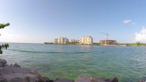 Южное Pointe Miami Beach сток-видео