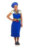 Южно-африканская девушка Стоковая Фотография
