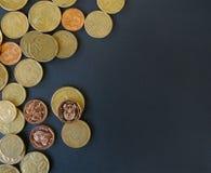 Южно-африканские деньги монеток Стоковая Фотография