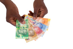 Южно - африканские кредитки стоковое фото rf