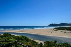 Южно - африканский пляж Стоковое Изображение