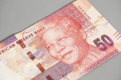 Южно-африканский ранд 50 Стоковое фото RF