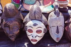 Южно-африканский рынок стоковое изображение