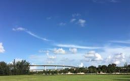 Южные болотистые низменности Флориды стоковая фотография