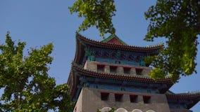 Южные ворота Qianmen Zhengyangmen Запретный город в центре Пекин сток-видео