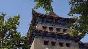 Южные ворота Qianmen Zhengyangmen Запретный город в центре Пекин акции видеоматериалы
