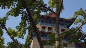 Южные ворота Qianmen Zhengyangmen Запретный город в центре Пекин видеоматериал