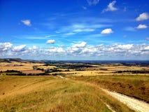 Южные спуски Англия Стоковое Изображение RF
