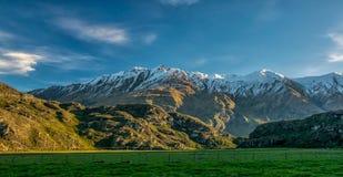 Южные alps Стоковое Изображение RF