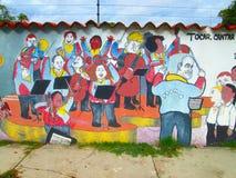 Южный - американское искусство улицы, Венесуэла стоковые фотографии rf