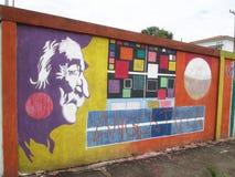 Южный - американское искусство улицы, Венесуэла стоковые изображения rf