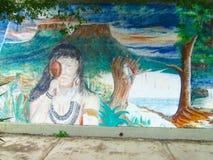 Южный - американское искусство улицы, Венесуэла стоковое фото