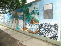 Южный - американское искусство улицы, Венесуэла стоковая фотография