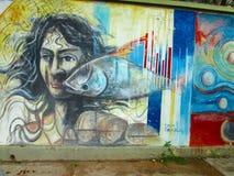 Южный - американское искусство улицы, Венесуэла стоковые фото