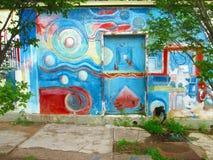 Южный - американское искусство улицы, Венесуэла стоковое изображение