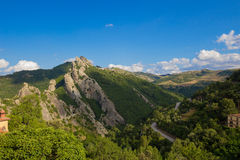 Южный ландшафт Италии Стоковые Изображения RF
