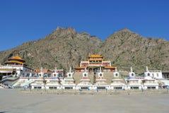 Южный висок (висок Guangzong) в Alxa Стоковая Фотография
