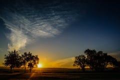 Южный восход солнца St Paul стоковые изображения rf