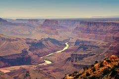 Южный гранд-каньон оправы, Аризона, США стоковое фото rf