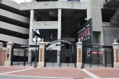 Южный западный строб стадиона Williams Brice, Колумбии, Южной Каролины стоковые изображения