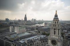 Южный западный взгляд Лондона Англии Стоковая Фотография RF