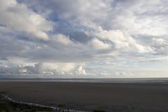 Южный залив Morecambe Стоковое Изображение RF