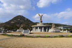 Южный Корея - Bluehouse Стоковые Фотографии RF