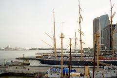 Южный морской порт улицы, NYC Стоковые Фотографии RF