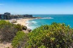 Южный пляж Ньюкасл - Ньюкасл - Австралия стоковые фотографии rf