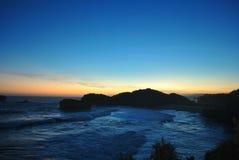 Южный сизоватый пляж стоковые фото