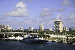 Южный Fort Lauderdale, Флорида, США Стоковое Изображение RF