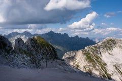 Юлианское альп в Словении Стоковые Изображения RF