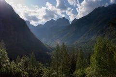 Юлианское альп в Словении Стоковая Фотография RF