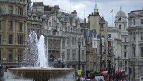 Юлить движение шины в центральном Лондоне акции видеоматериалы